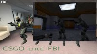 Модели Gign CS:GO like FBI для CS 1.6